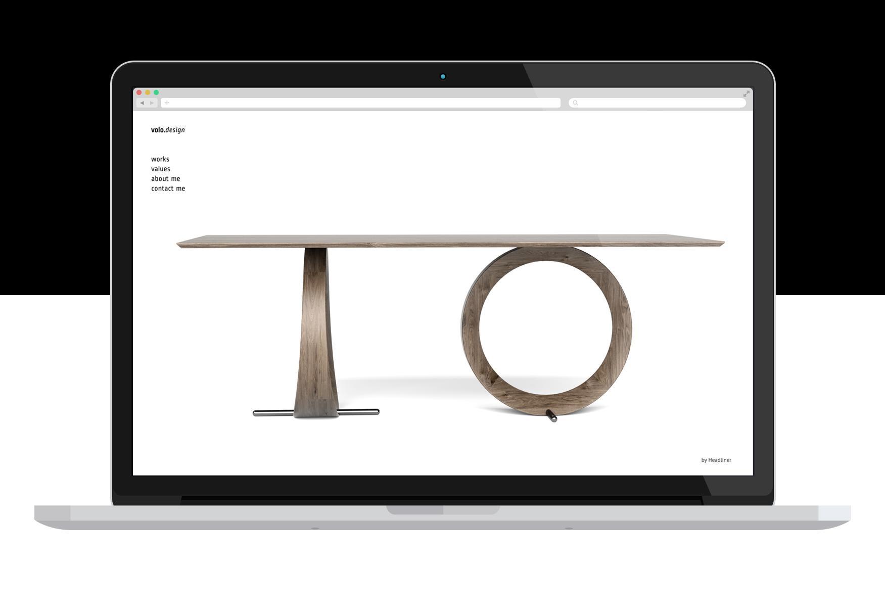 Industrial Designer Website